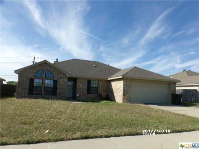 Killeen Single Family Home For Sale: 3407 Westwood Drive