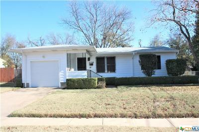 Killeen Single Family Home For Sale: 1110 Smith Drive