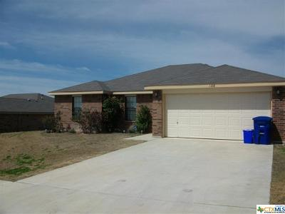 Copperas Cove TX Single Family Home For Sale: $125,000