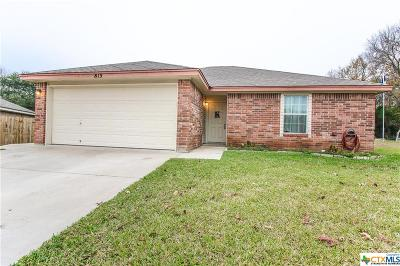 Belton Single Family Home For Sale: 813 Samuel Drive