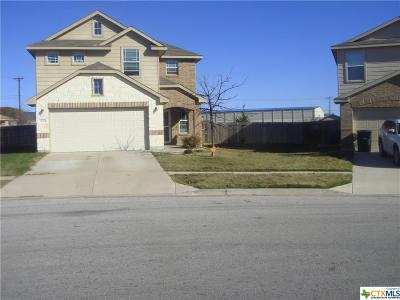 Killeen TX Single Family Home For Sale: $173,900