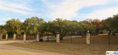 Spring Branch TX Single Family Home For Sale: $548,500