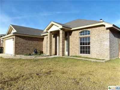 Killeen Single Family Home For Sale: 3903 Mustang