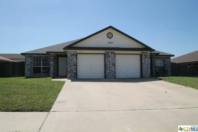 Killeen Multi Family Home For Sale: 4403 July Drive