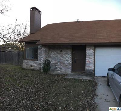 Killeen Single Family Home For Sale: 1103 Royal Crest Drive