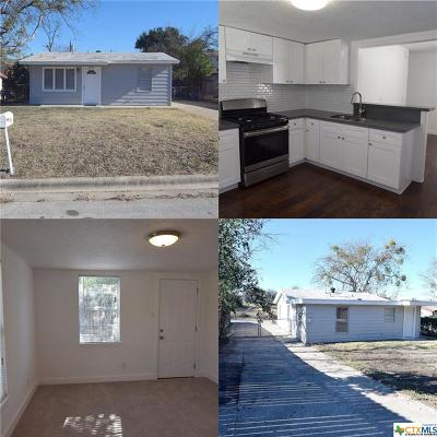 Killeen Single Family Home For Sale: 606 Stringer