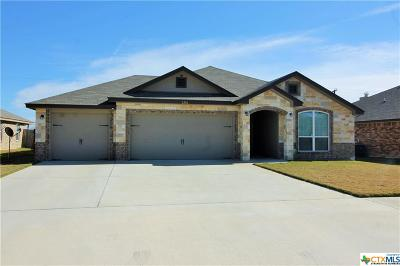 Killeen TX Single Family Home For Sale: $184,900