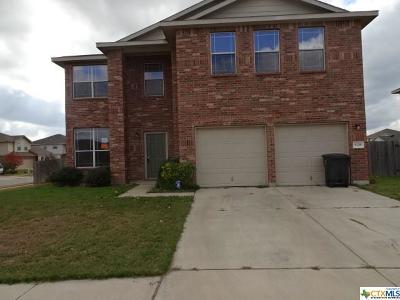 Killeen Single Family Home For Sale: 508 Orion