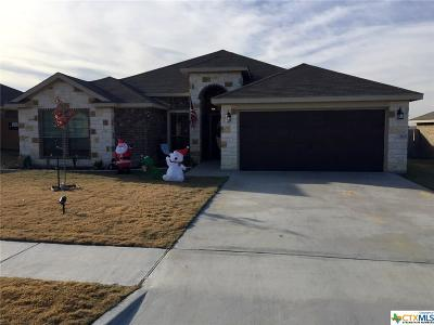 Copperas Cove Single Family Home For Sale: 3433 Horizon Street