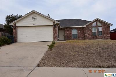 Killeen Single Family Home For Sale: 4001 Mustang