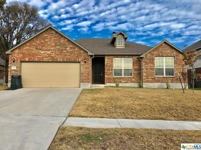 Killeen Single Family Home For Sale: 5905 Siltstone Loop