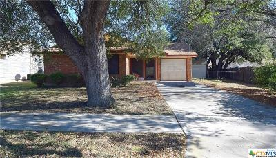 Killeen Single Family Home For Sale: 2202 Chafin