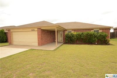 Killeen Single Family Home For Sale: 4606 Lloyd