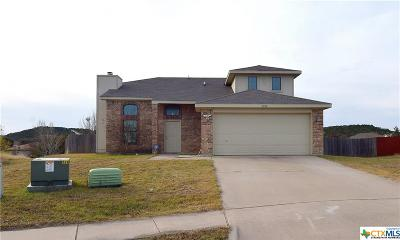 Copperas Cove Single Family Home For Sale: 3103 Redbud