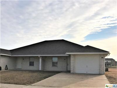 Killeen Multi Family Home For Sale: 3806 Uvalde Drive