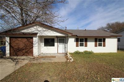 Copperas Cove Single Family Home For Sale: 2711 Live Oak Drive