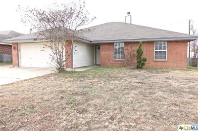 Killeen Single Family Home For Sale: 3801 Roundrock