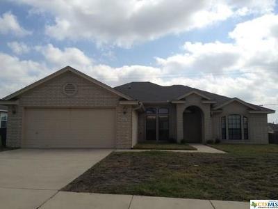 Killeen Single Family Home For Sale: 4308 Pennington
