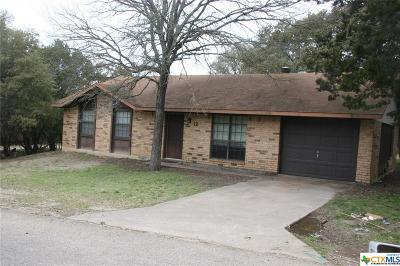 Belton Single Family Home For Sale: 12 Cliffwood