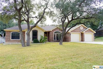 Harker Heights Single Family Home For Sale: 314 Wrought Iron Drive
