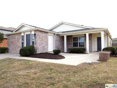 Killeen Single Family Home For Sale: 5403 Schorn