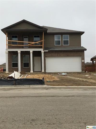Killeen Single Family Home For Sale: 3201 Malmaison