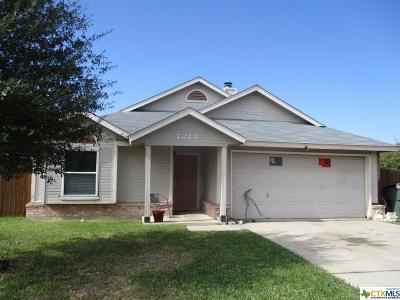 Killeen TX Single Family Home For Sale: $84,900
