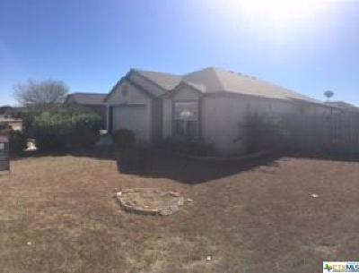 Killeen TX Single Family Home For Sale: $97,000
