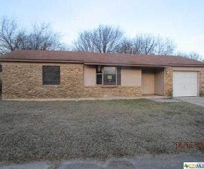Copperas Cove Single Family Home For Sale: 1104 27th Street