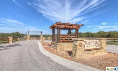 Burnet County Residential Lots & Land For Sale: 7 Creeks Tract 85