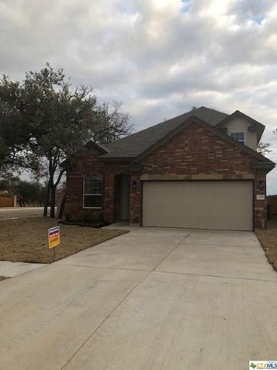 Killeen TX Single Family Home For Sale: $203,135