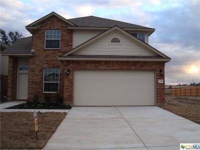 Killeen TX Single Family Home For Sale: $179,410