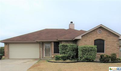 Killeen Single Family Home For Sale: 4006 Riverrock Drive