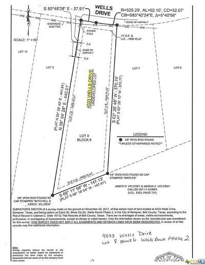Kempner Residential Lots & Land For Sale: 4033 Wells Drive