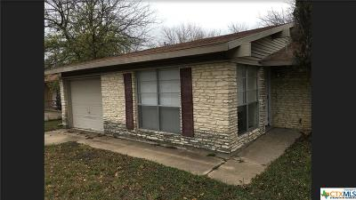 Killeen Single Family Home For Sale: 1201 Leader Drive
