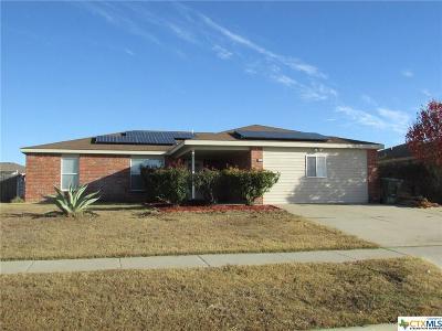 Killeen Single Family Home For Sale: 4511 Secretariat Drive