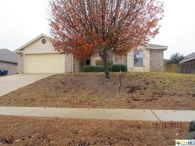 Copperas Cove Single Family Home For Sale: 1805 Indian Camp Trail
