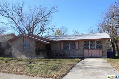 Copperas Cove Single Family Home For Sale: 518 Kate