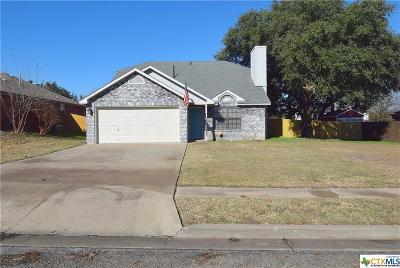 Copperas Cove Single Family Home For Sale: 1202 Creek