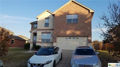 Harker Heights Single Family Home For Sale: 2607 Fala Drive