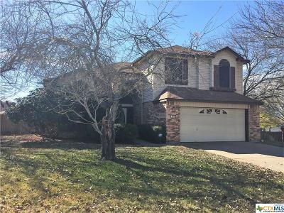 Harker Heights Single Family Home For Sale: 306 Blackfoot