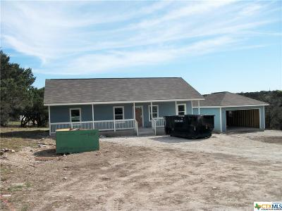 Spring Branch TX Single Family Home For Sale: $176,900