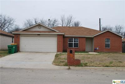 Belton TX Single Family Home For Sale: $139,900