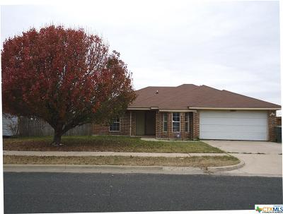 Killeen Single Family Home For Sale: 2605 Boswell