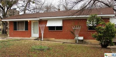 Harker Heights TX Single Family Home For Sale: $95,000