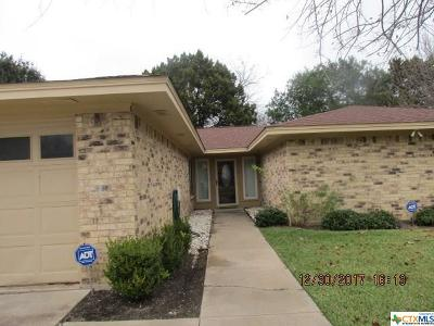 Harker Heights TX Single Family Home For Sale: $159,500