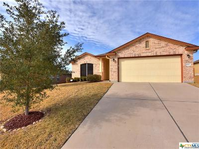 Copperas Cove TX Single Family Home For Sale: $158,900