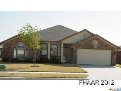 Killeen Single Family Home For Sale: 6108 Alexus Drive