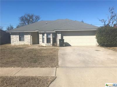 Killeen Single Family Home For Sale: 2613 Lazy Ridge