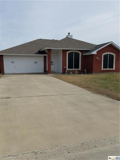 Nolanville Single Family Home For Sale: 216 Cedar Ridge